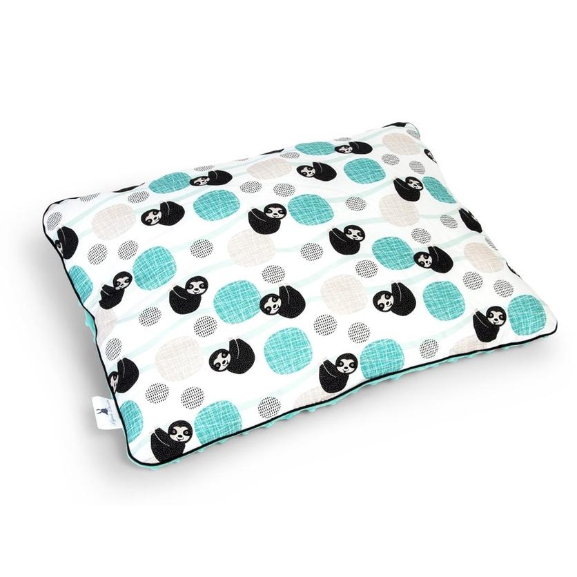 Duża puszysta poduszka dla dzieci - Leniwce 40x60