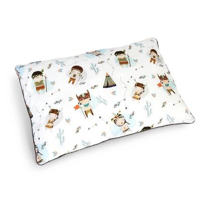 Duża puszysta poduszka dla dzieci - Indianie 40x60