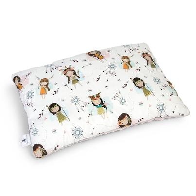 Duża puszysta poduszka dla dzieci - Indianki 40x60