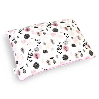 Duża puszysta poduszka dla dzieci - Króliczki z Jeżykami 40x60
