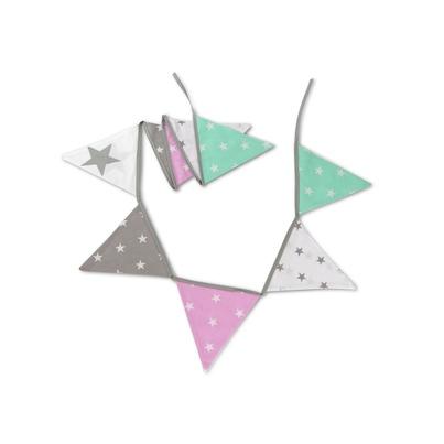 Girlanda do pokoju dziecięcego - Mint Stars