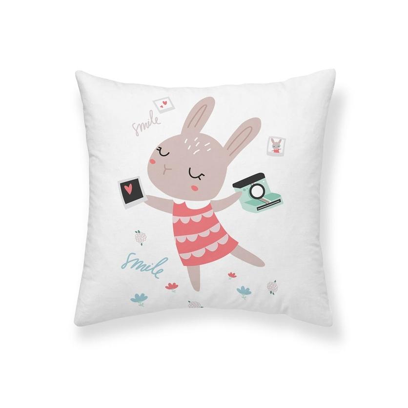 Poszewka 50x50cm Rabbit - dla dziecka, do łóżeczka