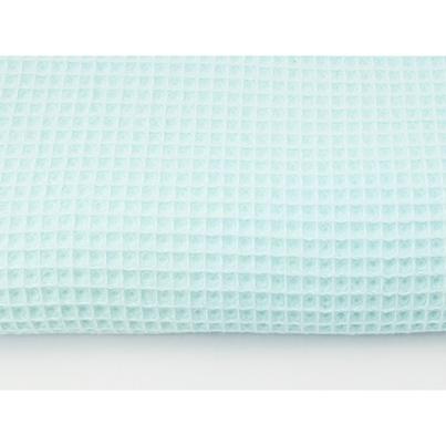 Pastelowy Kocyk wafelkowy letni dla niemowlaka - Lody 75x100 do wózka i łóżeczka.