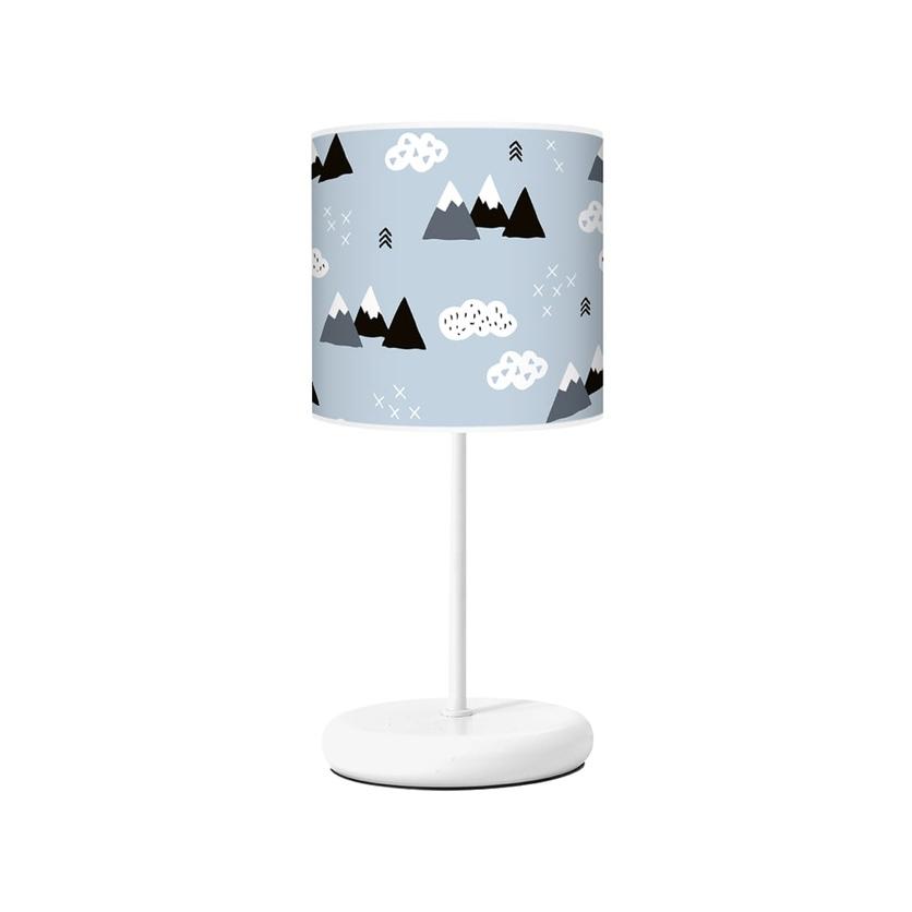 Lampka nocna dla dziecka niebieska Mountain do pokoju dziecięcego