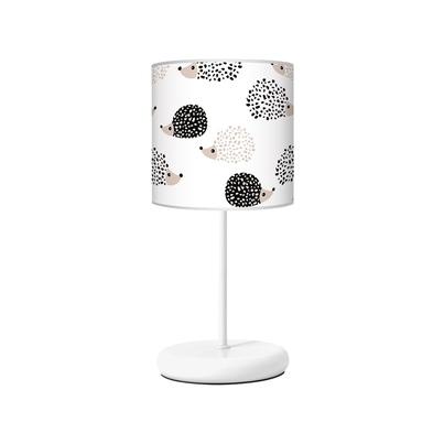 Lampka nocna dla dziecka biała Jeżyki do pokoju dziecięcego