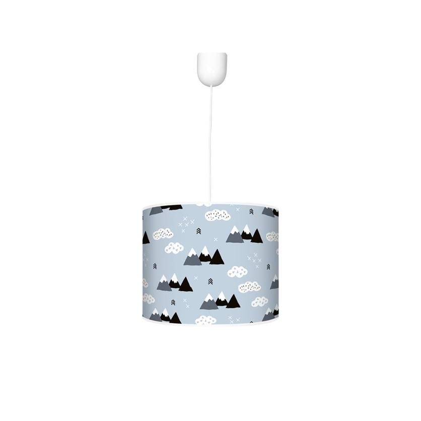 Kolorowa Lampa wisząca dla dzieci - Mountain 30cm do pokoju dziecięcego