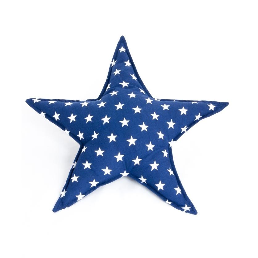 Poduszka dziecięca Gwiazdka granatowa - Star I do łóżeczka