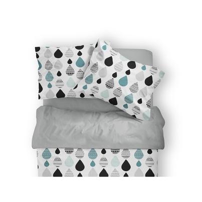 Bawełniana Pościel dziecięca do łóżeczka Krople II 100x135