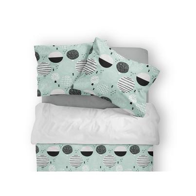 Bawełniana Pościel dziecięca do łóżeczka Las 100x135 dla chłopca