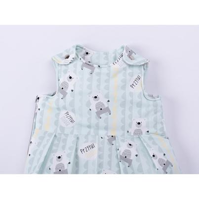 Bawełniany Śpiworek dziecięcy/niemowlęcy - Przytul Misia dla chłopca do wózka, spacerówki i fotelika.