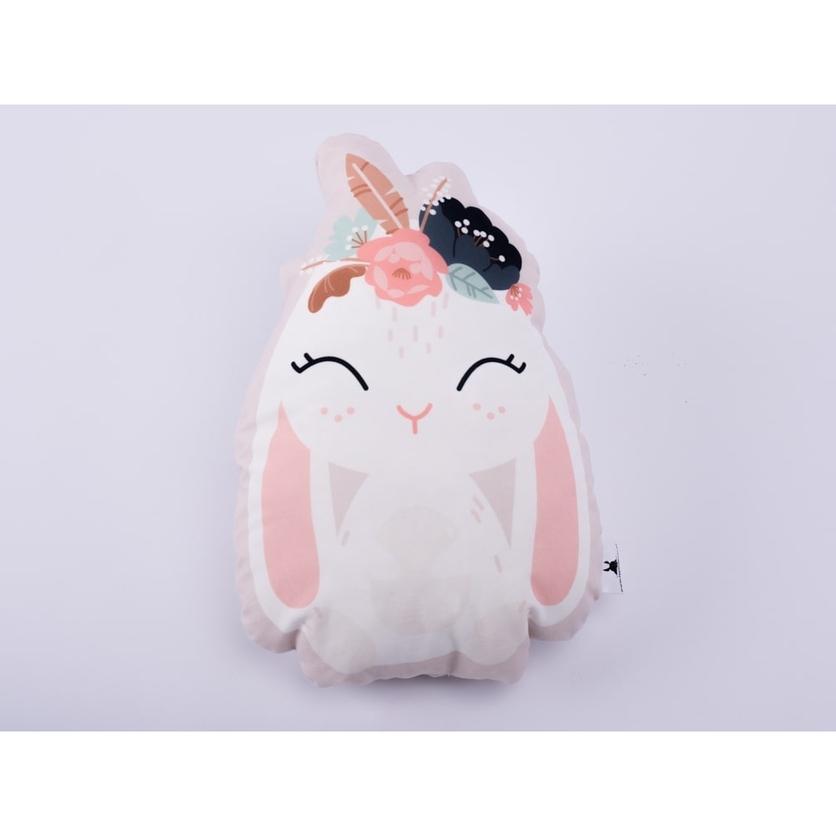 Przytulanka, Maskotka dla dziecka różowy Zajączek do spania