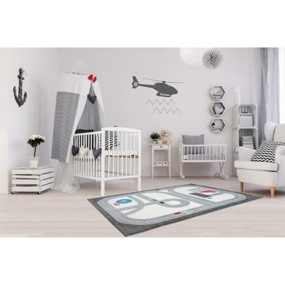 Dywan dziecięcy droga 120x180cm - Playtime do pokoju dziecięcego dla chłopca do pokoju dziecięcego