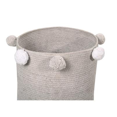 Kosz na zabawki - Basket Bubbly Grey