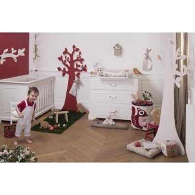Skandynawskie Łóżeczko dziecięce Ines białe 60x120 Bellamy