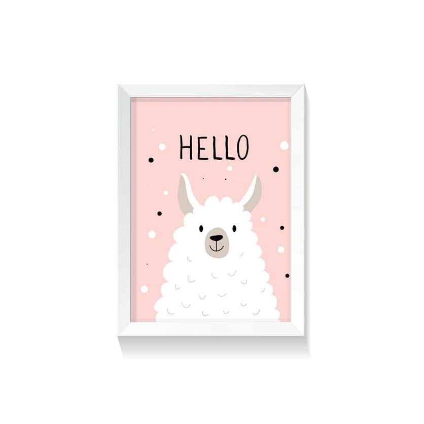 """Plakat """"Lama"""""""