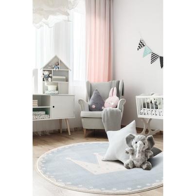 Dywan dziecięcy - LUCY - różowy do pokoju dziecięcego