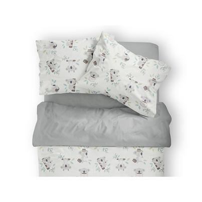 Bawełniana Pościel dziecięca do łóżeczka Koala 100x135 dla dziewczynki