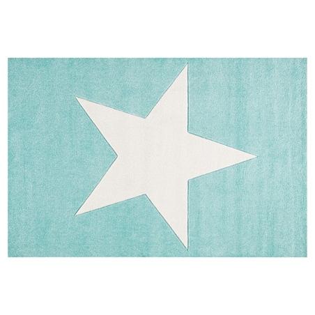 Dywan dziecięcy 160x230 - STAR Cream/Mint