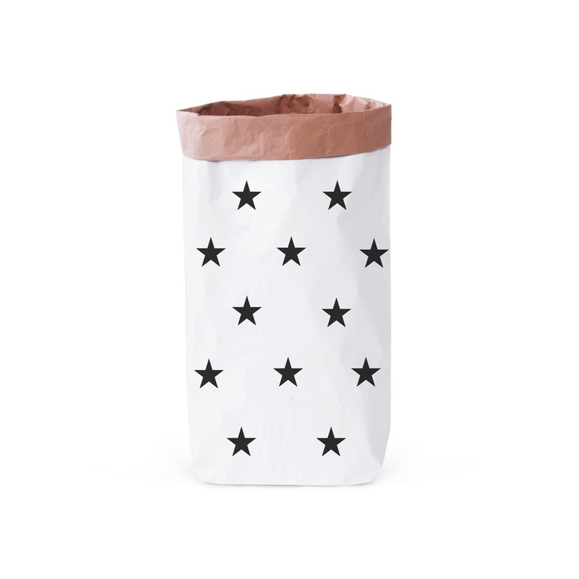 Papierowy worek na zabawki Gwiazdki 100x60cm dla dzieci
