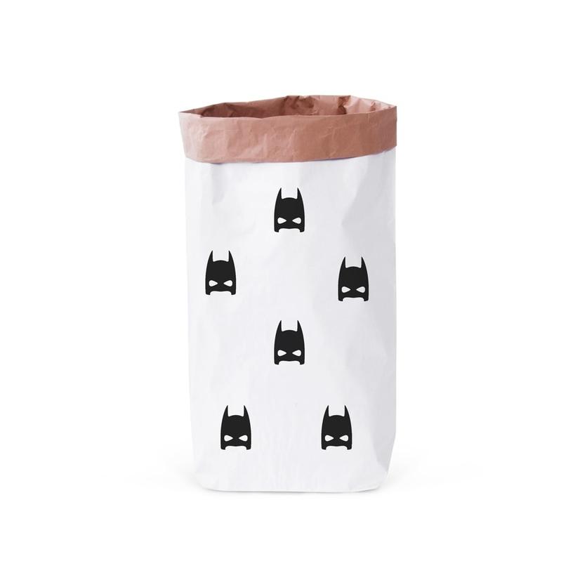 Papierowy worek na zabawki Batman 2 100x60cm dla dzieci