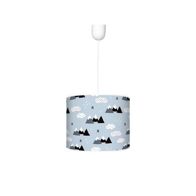 Kolorowa Lampa wisząca dla dzieci - Mountain 40cm do pokoju dziecięcego
