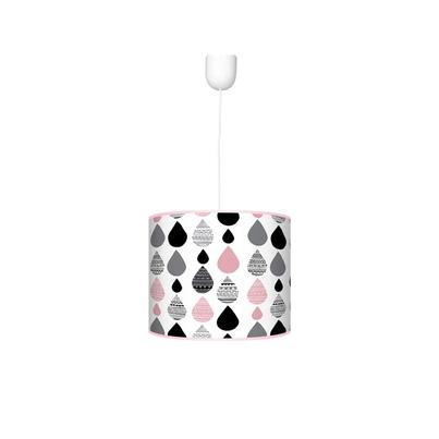 Kolorowa Lampa wisząca dla dzieci - Krople I 40cm do pokoju dziecięcego