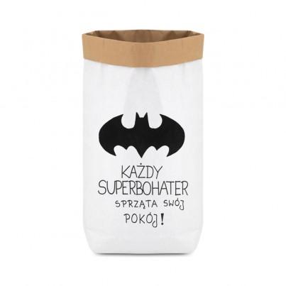 Papierowy worek na zabawki Batman II dla dzieci