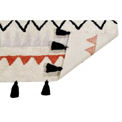 Dywan dziecięcy 140x200 cm - Kolorowy - Azteca Natural Terracota Lorena Canals do pokoju dziecka