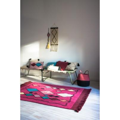 Pastelowy Dywan dziecięcy 120x185 - Różowo-Czerwony - Assa Lorena Canals dla dziewczynki