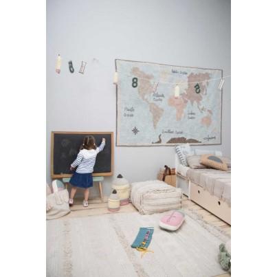 Dywan dziecięcy 170x240 - Beżowy - Air Dune White L Lorena Canals do pokoju dziecięcego