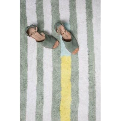 Dywan dziecięcy 140x200 - Kolrowy - Happy Lanes Lorena Canals do pokoju dziecięcego