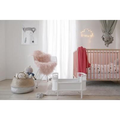 Pastelowy Dywan dziecięcy 120x160 - Szary - Degrade Lorena Canals dla chłopca
