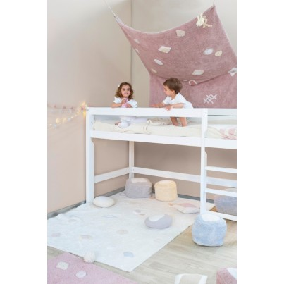 Pastelowy Dywan dziecięcy 140x200 - Beżowy - Kim Lorena Canals dla chłopca