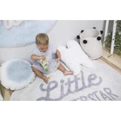 Pastelowy Dywan dziecięcy okrągły w gwiazdki 120 - Little Superstar, Mr Wonderful Lorena Canals dla chłopca