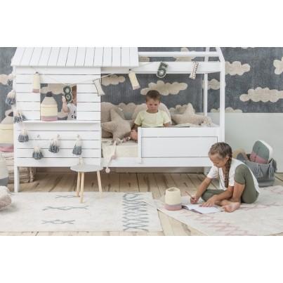 Pastelowy Dywan dziecięcy 120x160 - Beżowy - Atlas Natural Lorena Canals dla chłopca