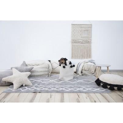 Pastelowy Dywan dziecięcy 120x160 - Szary - Oasis Grey Lorena Canals dla chłopca