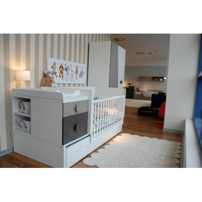 Dywan dziecięcy 120x160 - Beżowy - Galleta Crema Lorena Canals do pokoju dzieci