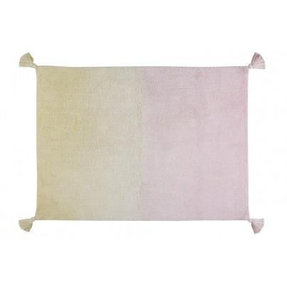 Pastelowy Dywan dziecięcy 120x160 - Różowo-Żółty - Degrade Vanilla Lorena Canals dla dziewczynki