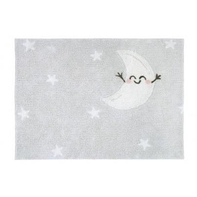 Dywan dziecięcy w gwiazdki 120x160 - Happy Moon Mr Wonderful Lorena Canals do pokoju dzieci