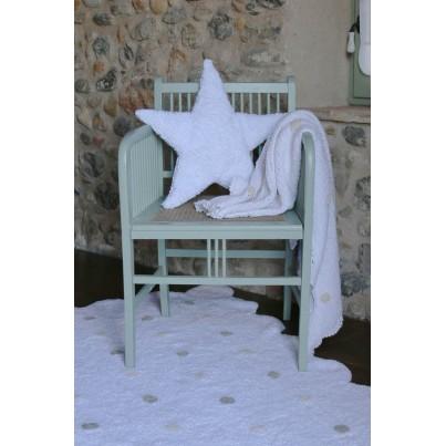 Dywan dziecięcy w kropeczki 120x160 - Biały - Galleta Lorena Canals do pokoju dzieci
