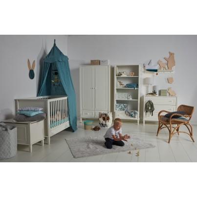 Pastelowy Dywan dziecięcy 120x160 - Jasny szary - Trenzas Pearl Lorena Canals dla chłopca