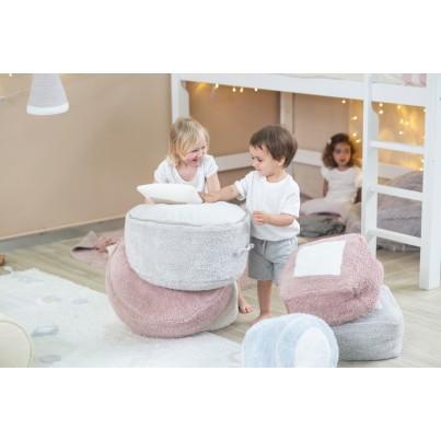 Ozdobna Poduszka dziecięca cukierek - Candy Ivory Linen Lorena Canals do pokoju dziecka