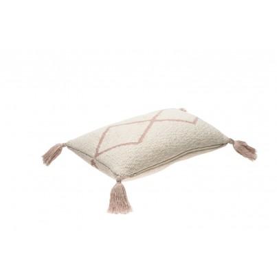 Ozdobna Poduszka dziecięca z frędzlami - Little Oasis Nat Pale Pink Lorena Canals do pokoju dziecka
