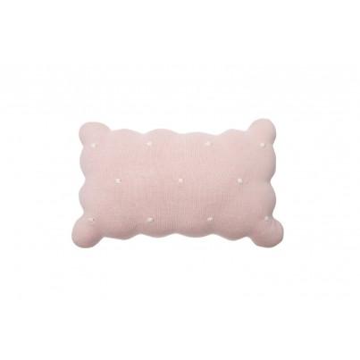 Ozdobna Poduszka dziecięca herbatnik - Biscuit Pink Lorena Canals do pokoju dziecka