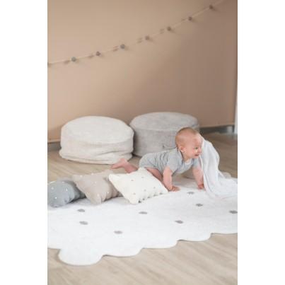 Ozdobna Poduszka dziecięca herbatnik - Biscuit Grey Lorena Canals do pokoju dziecka