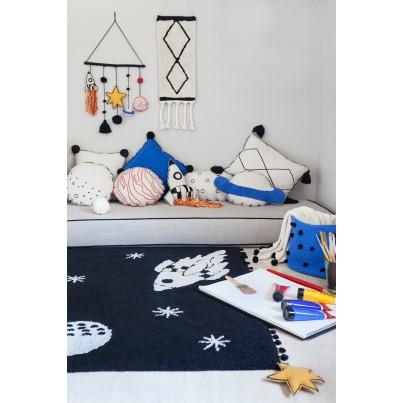 Ozdobna Poduszka dziecięca rakieta - Rocket Lorena Canals do pokoju dziecka