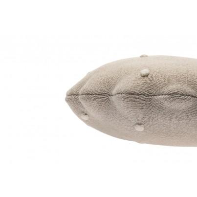 Ozdobna Poduszka dziecięca - Round Biscuit Dune White Lorena Canals do pokoju dziecka