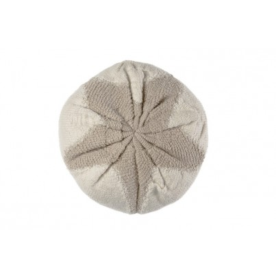 Ozdobna Poduszka dziecięca - Knitted cushion Cotton Boll Lorena Canals do pokoju dziecka