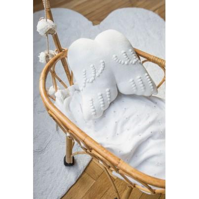 Ozdobna Poduszka dziecięca skrzydła - Angel Wings Lorena Canals do pokoju dziecka