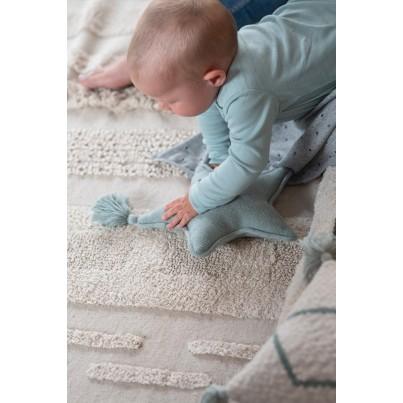 Ozdobna Poduszka dziecięca gwiazdka - Twinkle Star Indus Blue Lorena Canals do pokoju dziecka